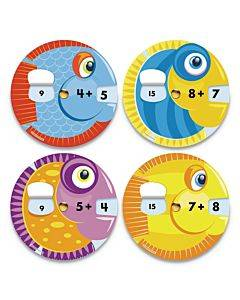 Ez-spin, Additon Game, Ages 5 To 7, 18/pack