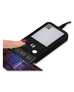 Flashtest Counterfeit Detector, Micr, Uv Light, Watermark, U.s. Currency, Black