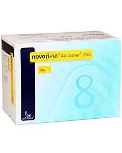 Novofine Autocover Pen Needle 30g X 8 Mm (100 Count) Part No. 185275 (100/box)