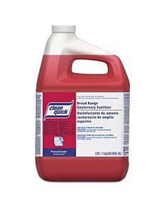 Broad Range Quaternary Sanitizer, Sweet Scent, 1 Gal Bottle, 3/carton
