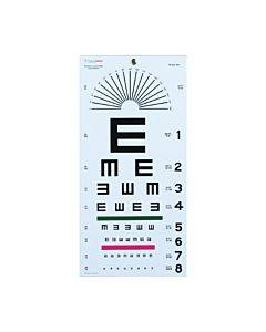 Graham Field Health Illiterate Eye Chart 22 X11 Part No.1241