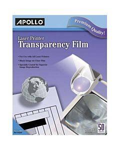 Apollo Laser, Inkjet Transparency Film - Clear