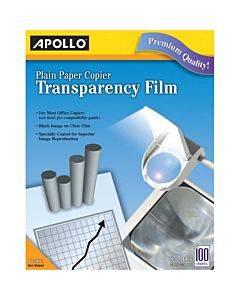 Apollo Transparency Film - Black, White