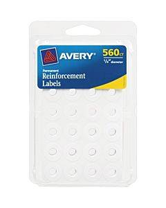 Avery® Permanent Reinforcement Label Rings