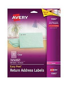 Avery® Easy Peel Return Address Labels