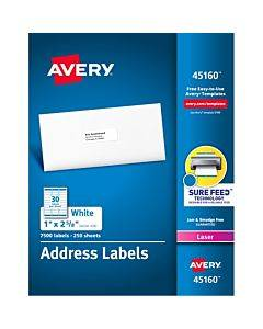 Avery® Address Labels - Sure Feed Technology