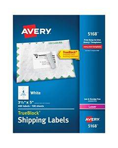 Avery® Easy Peel White Shipping Labels