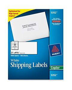 Avery® Shipping Label