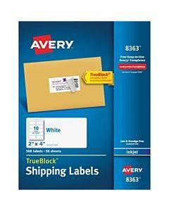 Avery® Trueblock Shipping Labels - Sure Feed