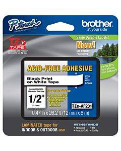 Brother Adhesive Acid-free Tz Tape