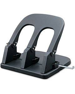 Business Source Adjustable Three-hole Punch