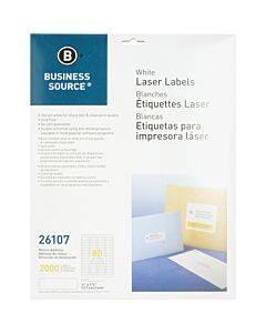 Business Source Address Laser Labels