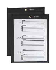Business Source Black Backing Shop Ticket Holder