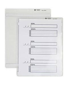 Business Source Magnetic Ticket Holder