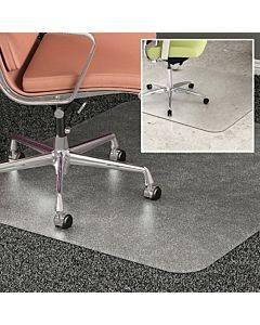 Deflecto Duomat Carpet/hard Floor Chairmat