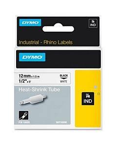 Dymo White Heat Shrink Tube
