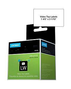 Dymo Labelwriter Video Top Labels