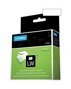 """Dymo Lw Return Address Labels 3/4"""" X 2"""""""