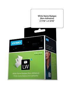 Dymo Non-adhesive Labelwriter Name Badge Labels