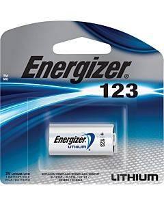 Energizer 123 Batteries, 1 Pack