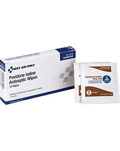 First Aid Only Povidone Iodine Antiseptic Wipes