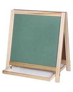 Flipside Chalkboard/magnetic Board Table Easel