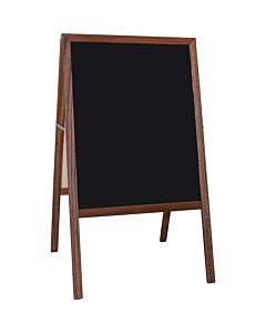 Flipside Stained Black Chalkboard Easel