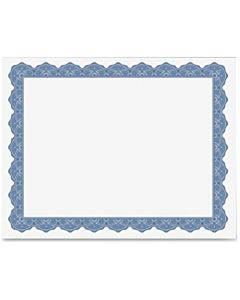 Geographics Blank Parchment Certificate
