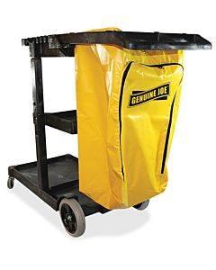 Genuine Joe Workhorse Janitor's Cart