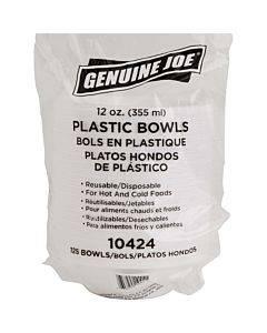 Genuine Joe Reusable Plastic Bowls