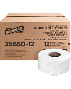 Genuine Joe 2-ply Jumbo Roll Dispenser Bath Tissue