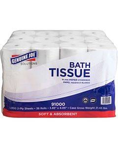 Genuine Joe Solutions Double Capacity 2-ply Bath Tissue