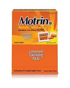 Motrin Ibuprofen Pain Reliever