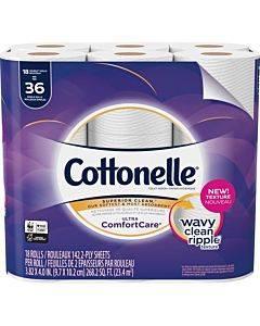 Cottonelle Ultra Comfortcare Toilet Paper - Double Rolls