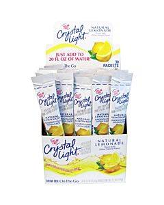 Crystal Light Crystal Light On-the-go Mix Lemonade Sticks