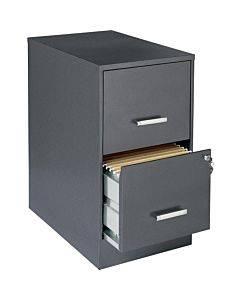 "Lorell Soho 22"" 2-drawer File Cabinet"