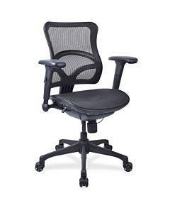 Lorell Full Mesh Mid-back Chair
