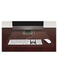 Lorell Rectangular Crystal-clear Desk Pads