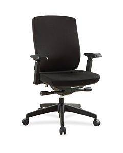 Lorell Mid-back Chairs With Adjustable Arms