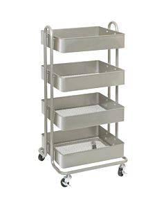 Lorell Storage Basket Cart