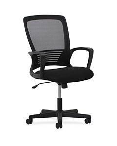 Lorell Sandwich Seat Mesh Mid-back Chair