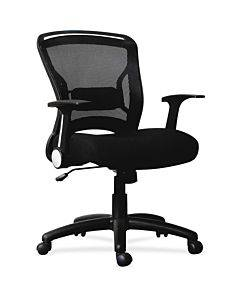 Lorell Flipper Arm Mid-back Chair