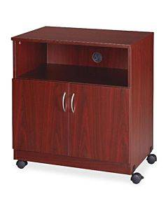 Lorell Mobile Machine Stand With Shelf
