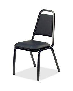 Lorell Upholstered Stacking Chairs - 4/ct