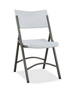 Lorell Heavy-duty Tubular Folding Chairs - 4/ct