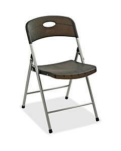 Lorell Translucent Folding Chairs - 4/ct