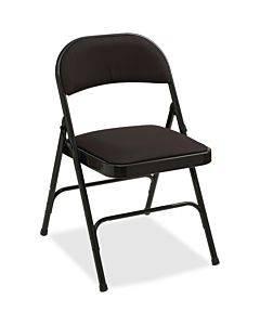 Lorell Padded Seat Folding Chairs - 4/ct