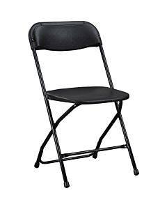 Lorell Plastic Folding Chair