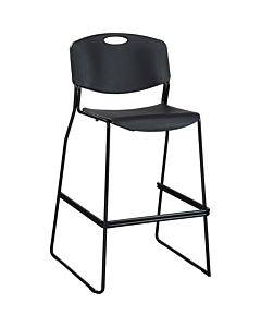 Lorell Heavy-duty Bistro Stack Chairs