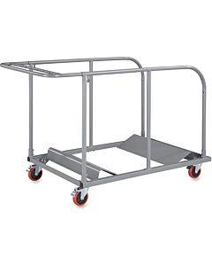 Lorell Round Planet Table Trolley Cart